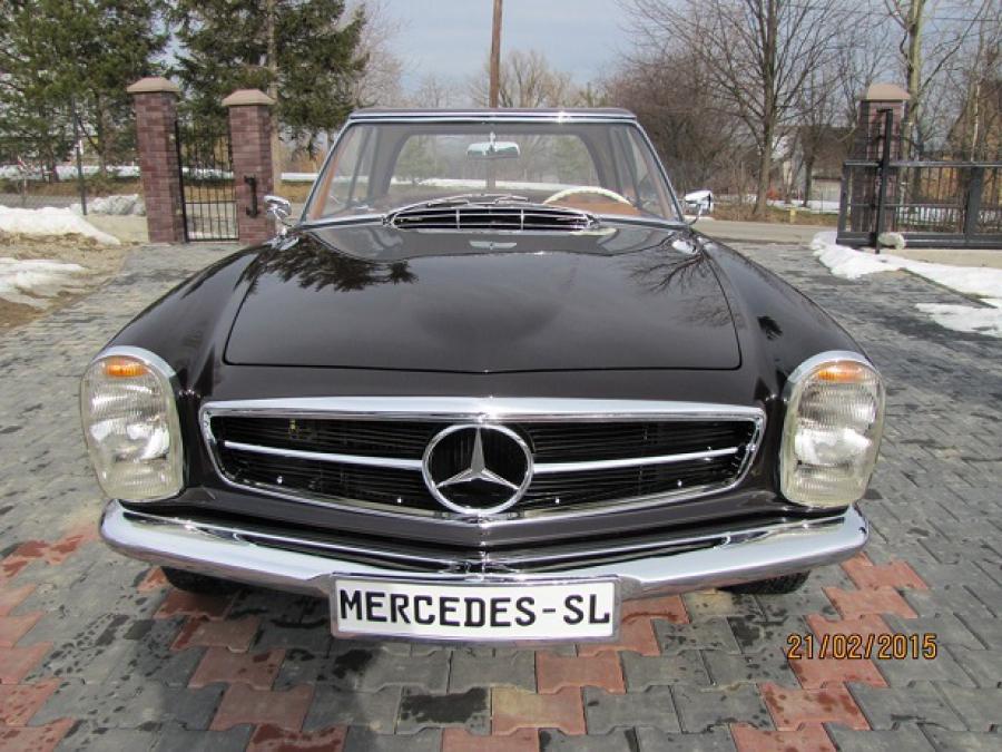 Mercedes 230SL Pagoda Manual LHD