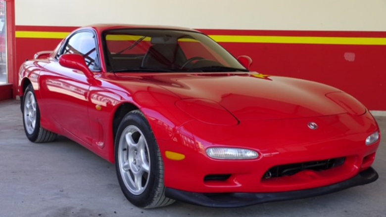 Mazda RX-7 LHD low KMS 1993