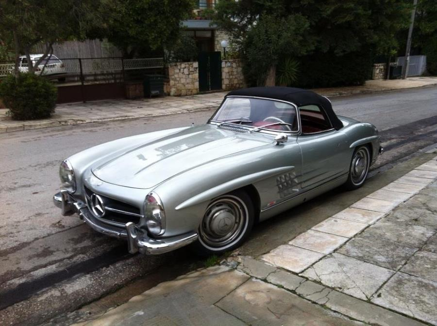 Mercedes 300SL Roadster SOLD