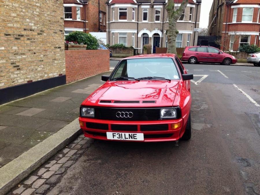 Audi Sport Quattro SWB 1989 SOLD