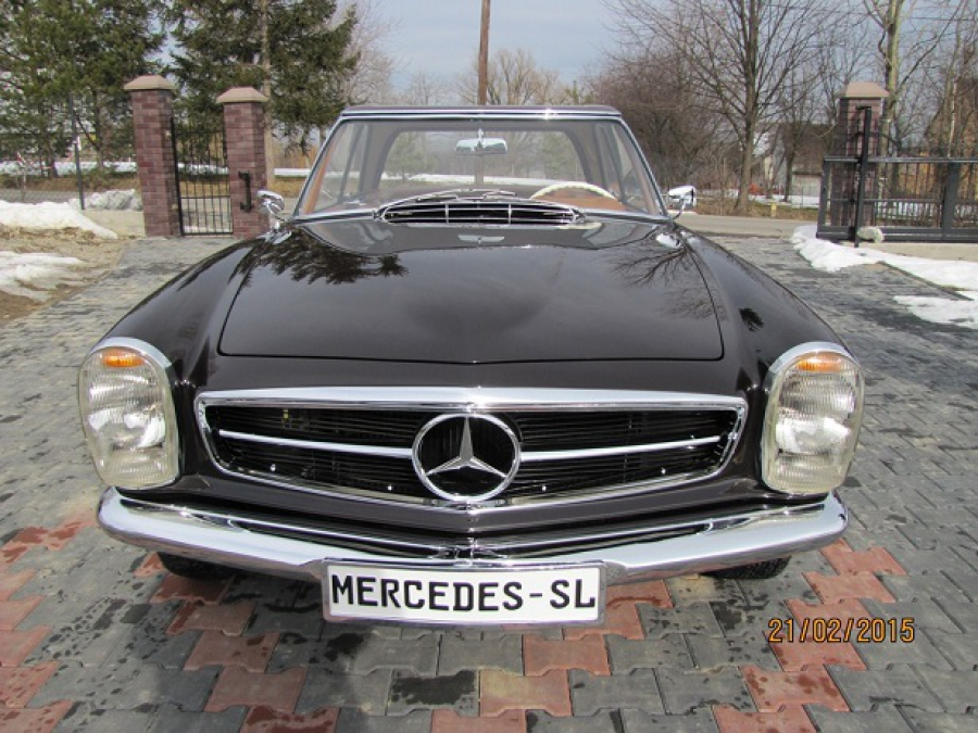 Mercedes 230SL Pagoda Manual LHD