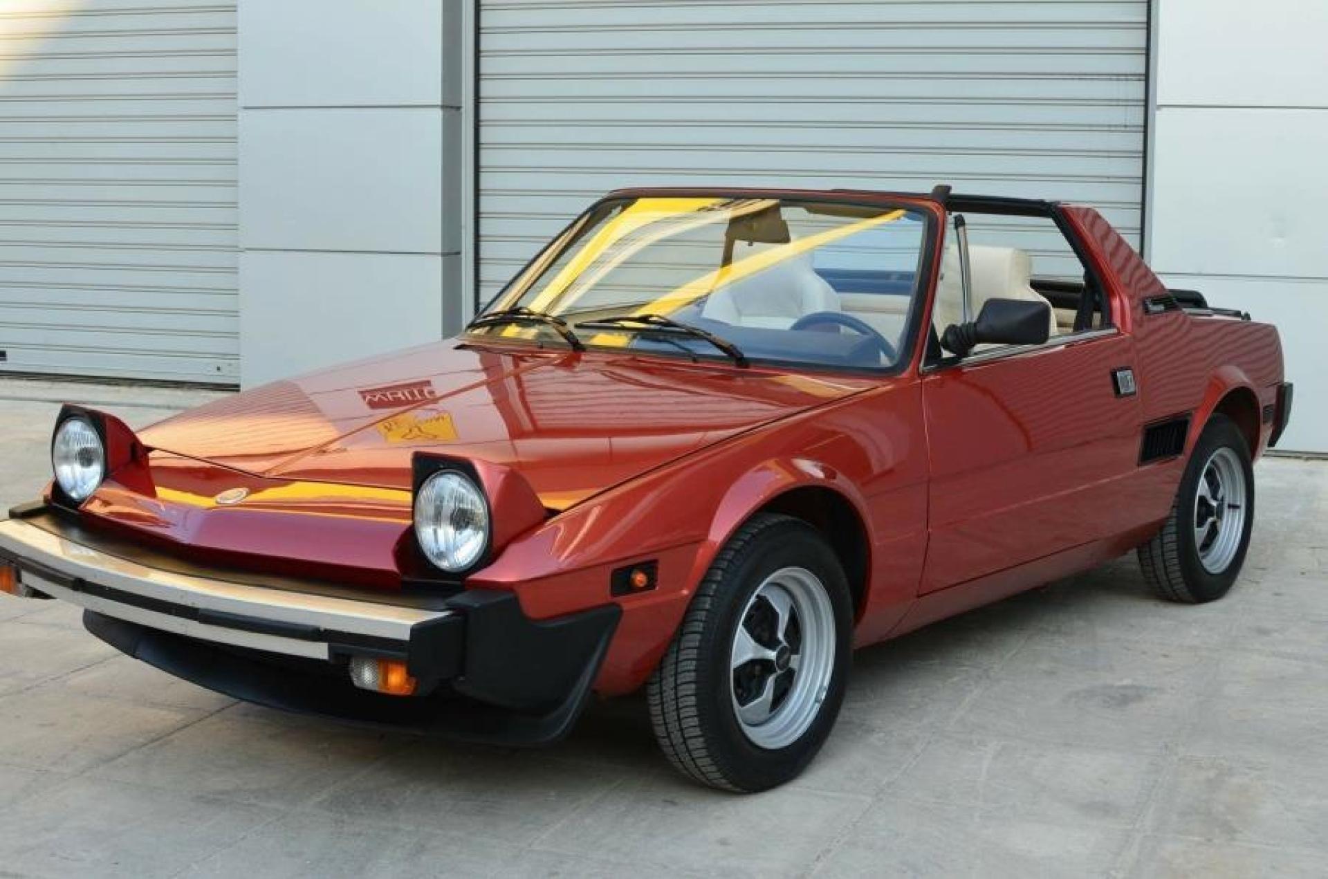 Fiat X1/9 17.000km SOLD
