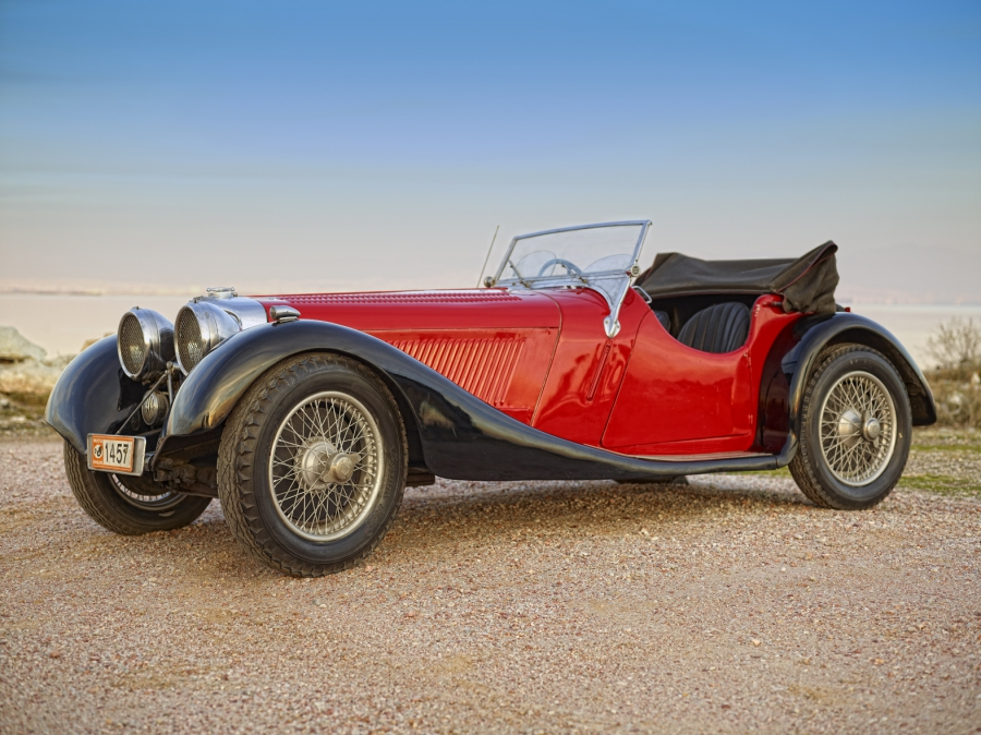 Jaguar SS 100 1937 Original Car